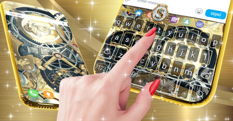 golden mechanism keyboard